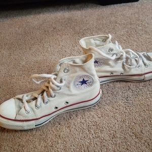 Converse off white high top